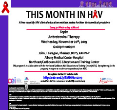 This Month in HIV: Antiretroviral Therapy